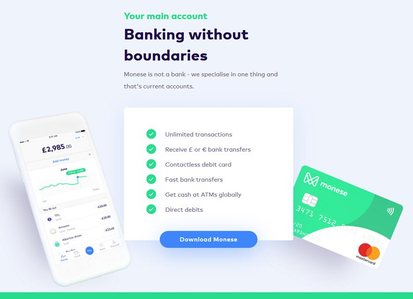 Complete Monese Review 2019: Bank Card, Current Account & App