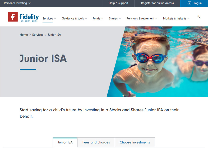 Fidelity Junior ISA