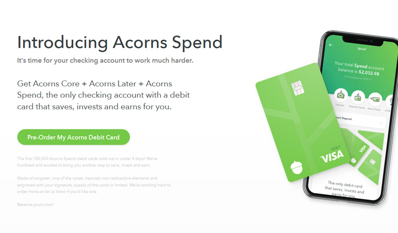 Acorns Review 2020.Acorns Review 2020 The Spare Change Savings App Debit Card