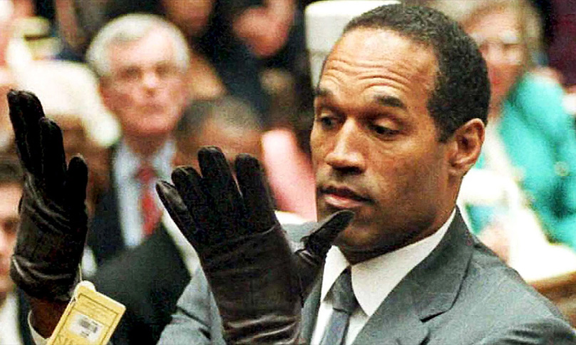 OJ Simpson Gloves