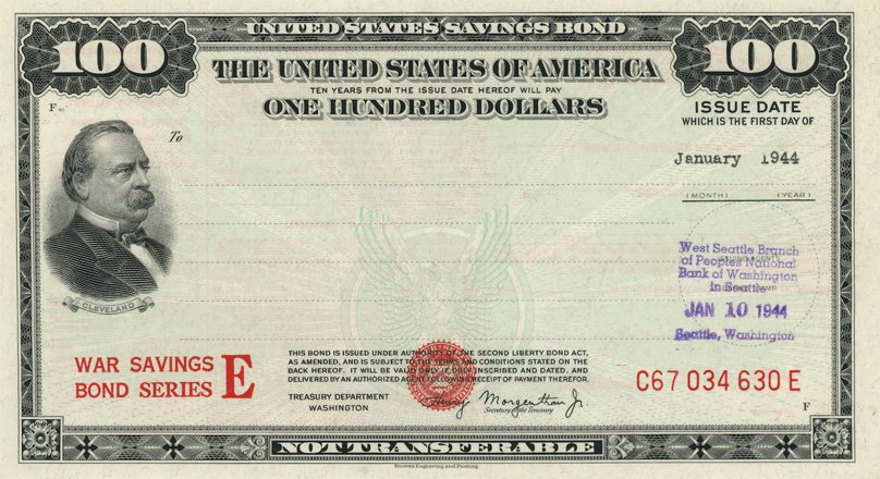 United States Savings Bond
