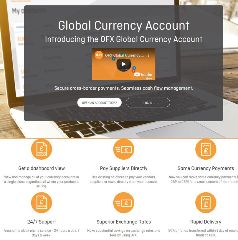 Global Currency Account