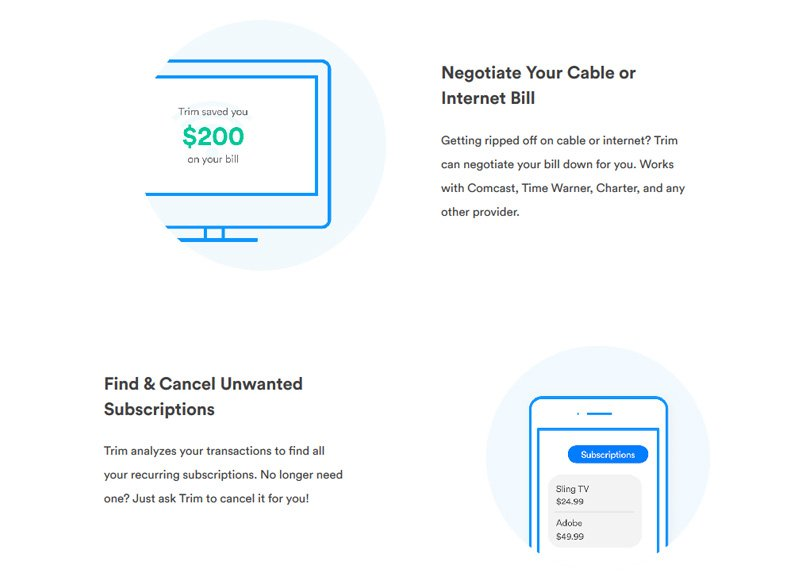 Trim App Review 2020 Lower Bills Cut Your Subscriptions Pros Cons
