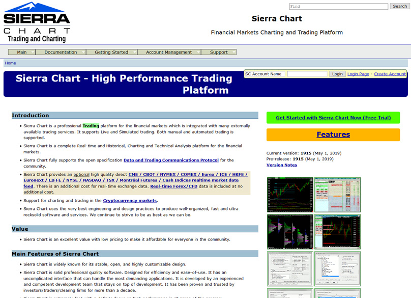 Trading Software Compared: TradingView vs  Sierra Chart