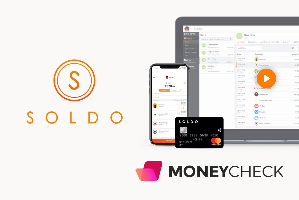 Soldo Review: Prepaid Business Mastercards with Expense Tracking