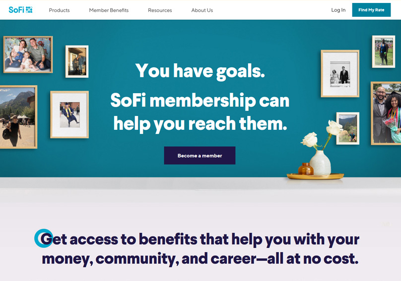 Get access to benefits that help you with your money, community, and career—all at no cost.