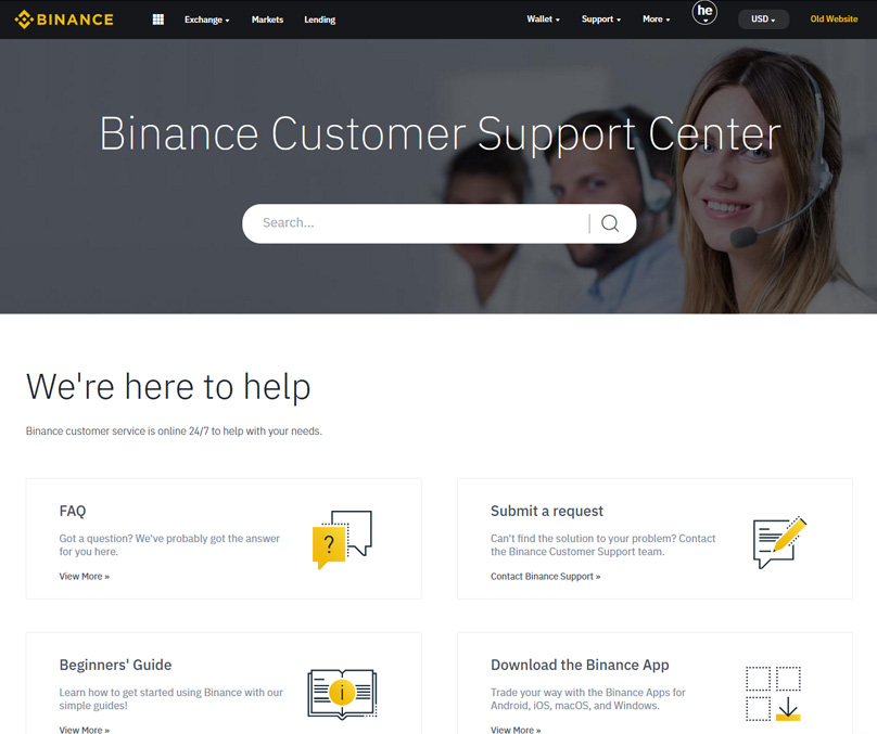 Binance Customer Support