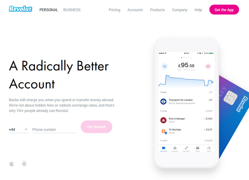 Revolut Website