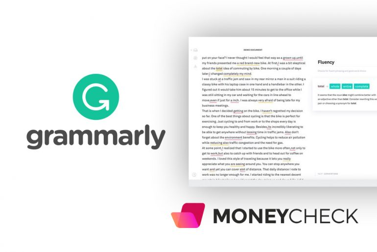 Proofreading Software Grammarly Preview