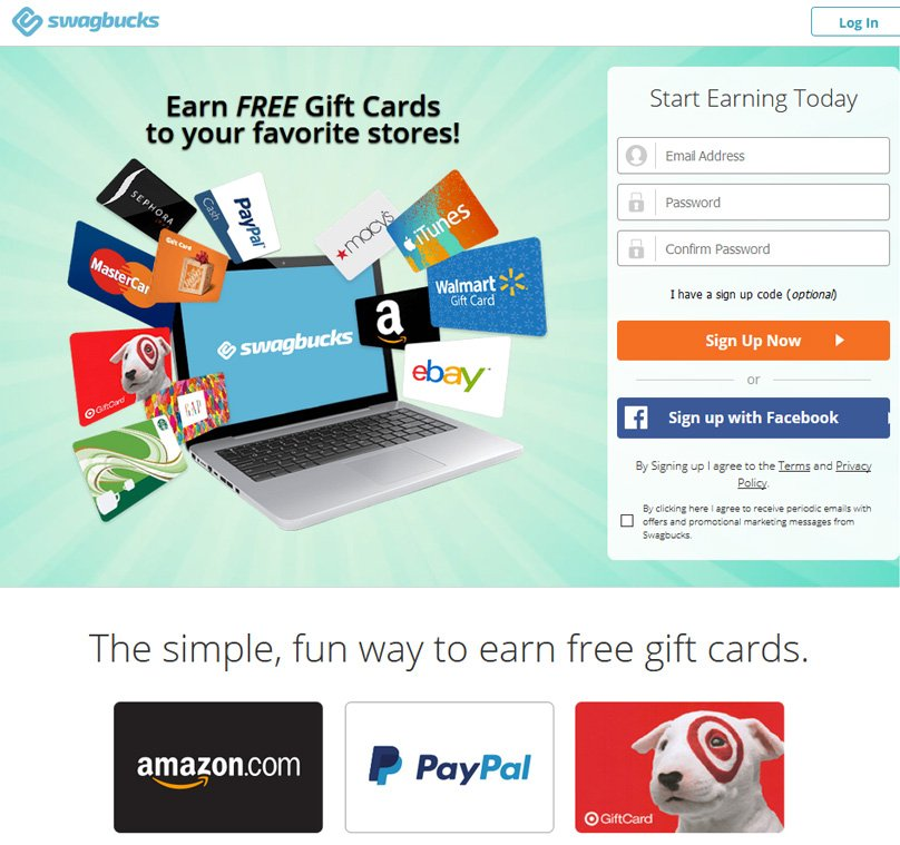 Swagbucks Website