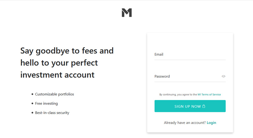 M1 Finance Signup