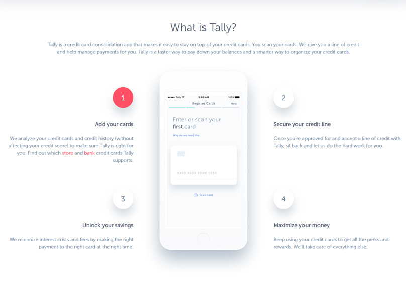 How Tally App Works