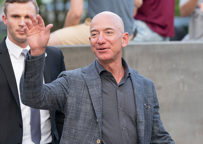 Jeff Bezos Today