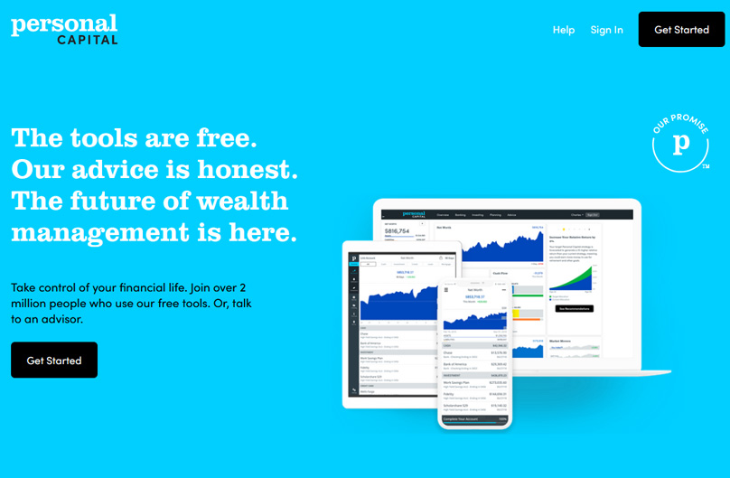 Personal Capital Website