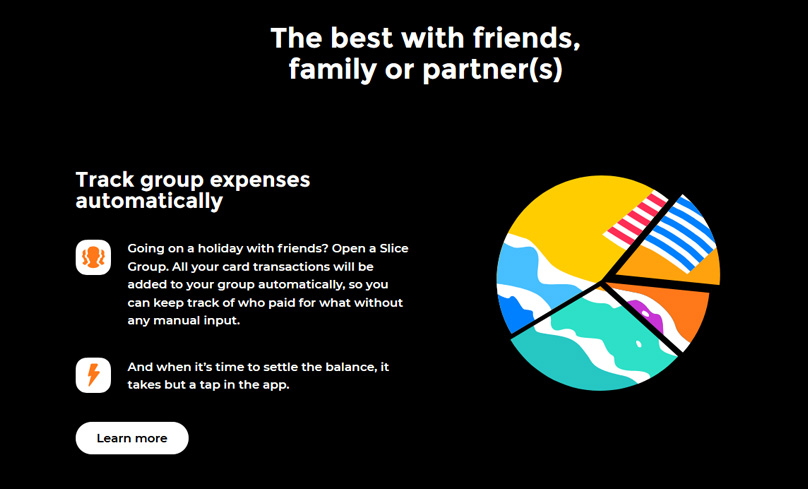 bunq can handle group expenses
