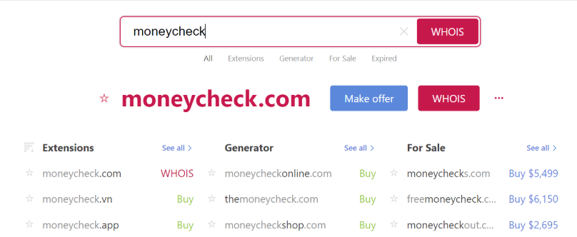 How to check your blog's domain name