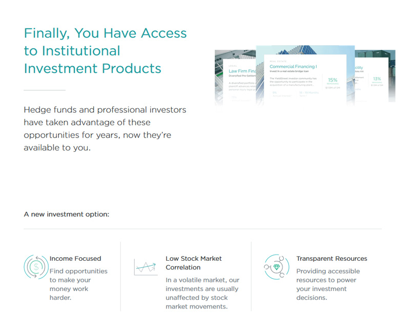 Access to Institutional Investment Products