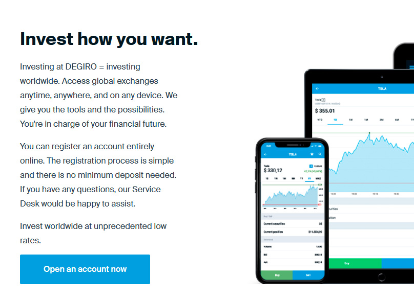 Access global exchanges anytime, anywhere, and on any device
