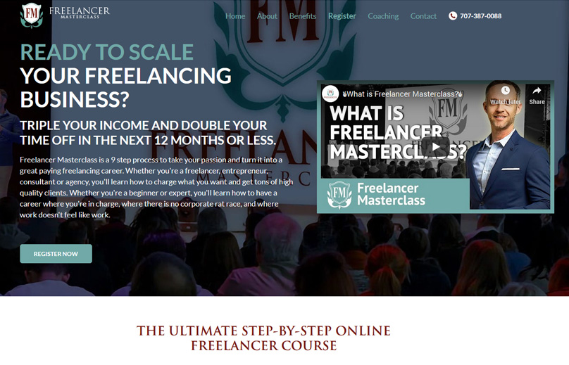 Freelancer Masterclass