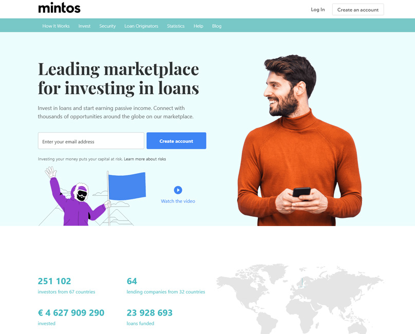 Mintos Website