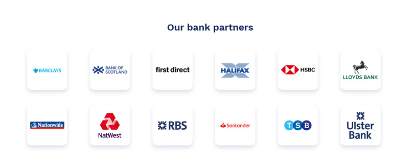 Current banking partners