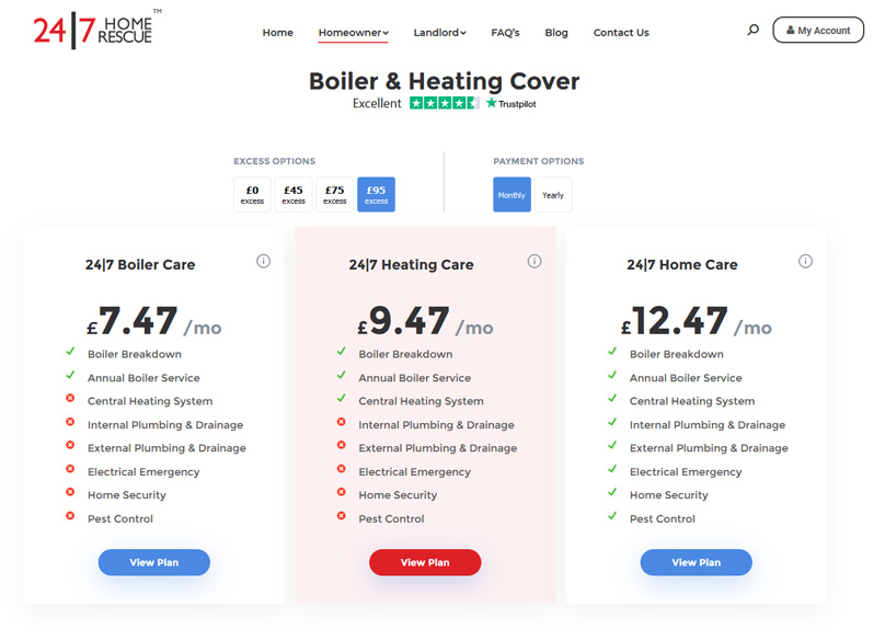 Boiler & Heating Cover