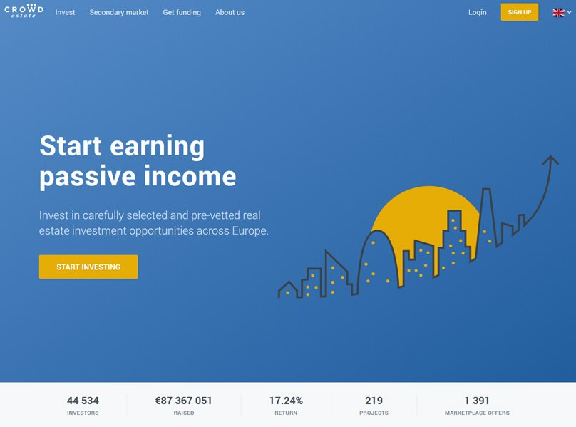 Start earning passive income