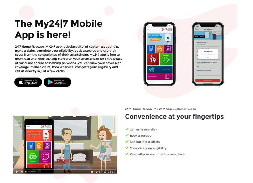 The My247 Mobile App
