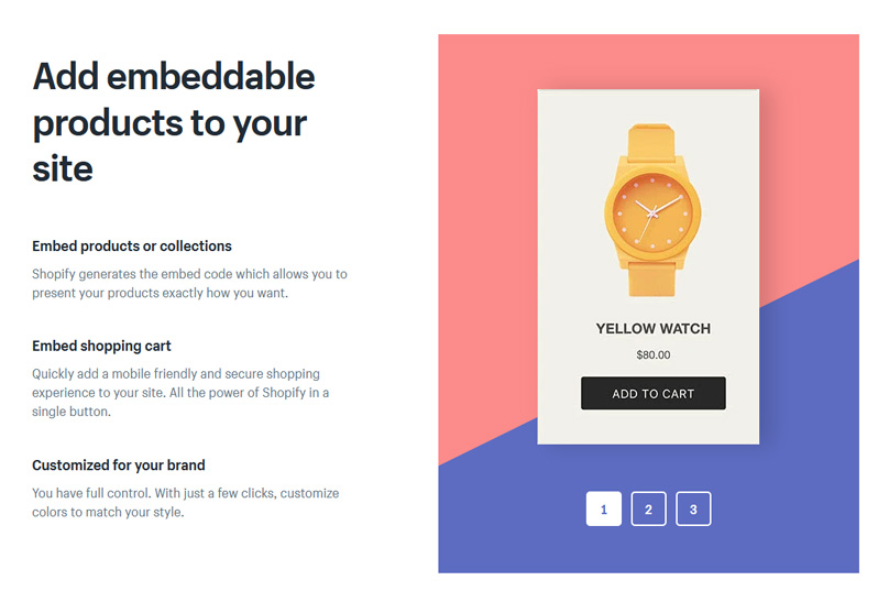"""Embed a """"Buy Button"""" for your items in any website"""
