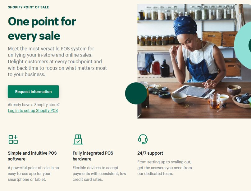 Point of sale system so you can sell anywhere