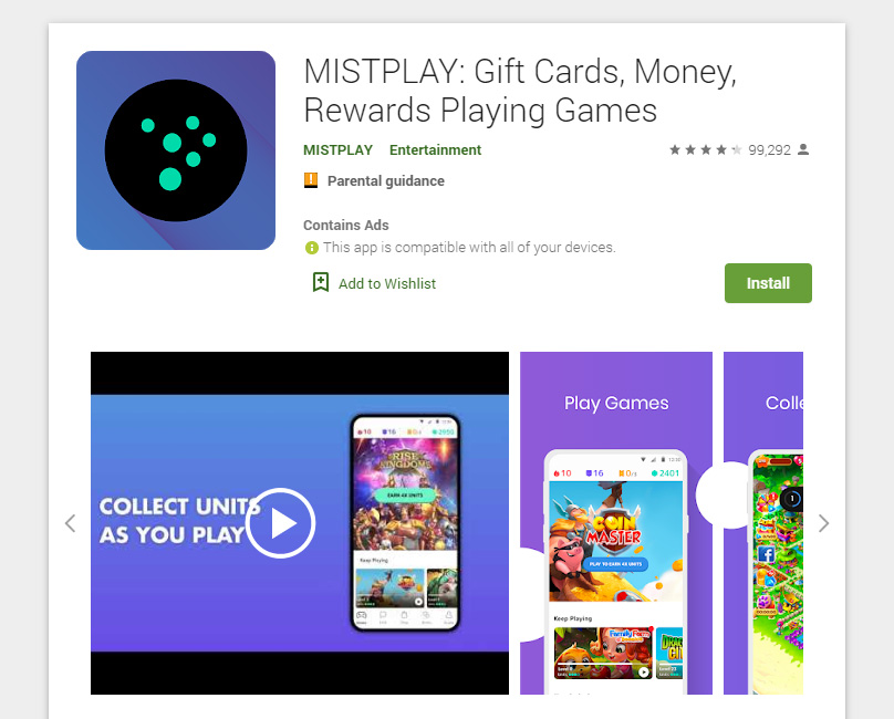 Mistplay at the App Store