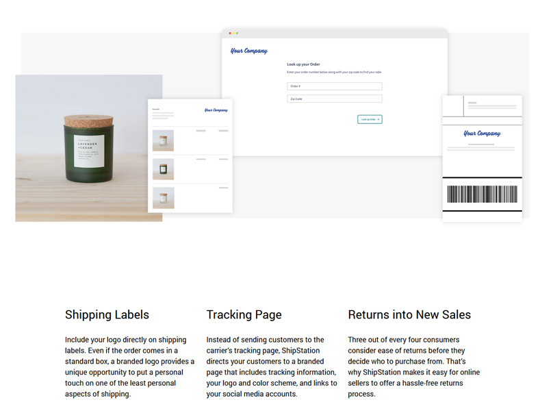Extend your brand's identity with branded shipping