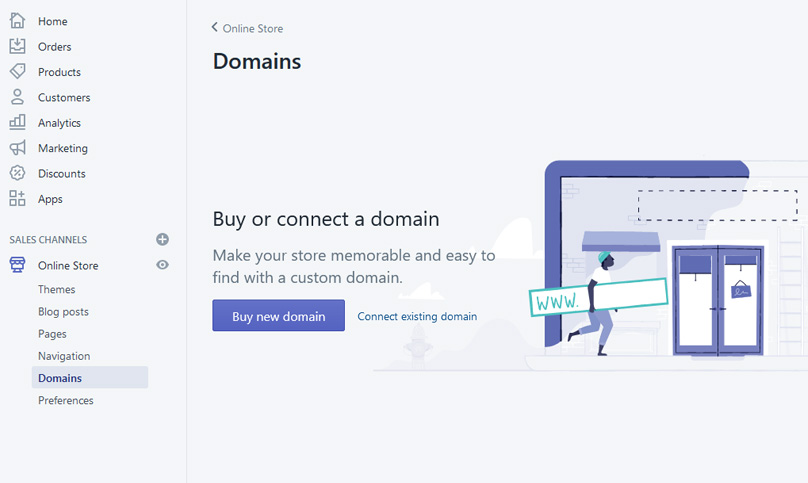 Connect your domain name