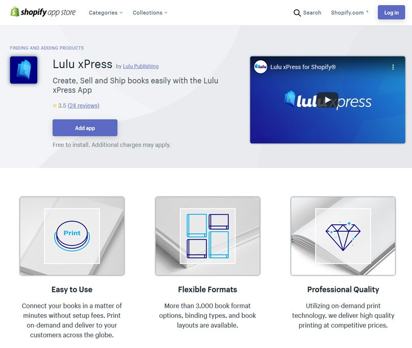 Create, Sell and Ship books easily with the Lulu xPress App