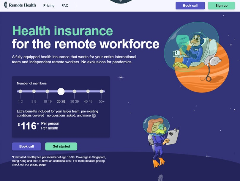 Health insurance for the remote workforce