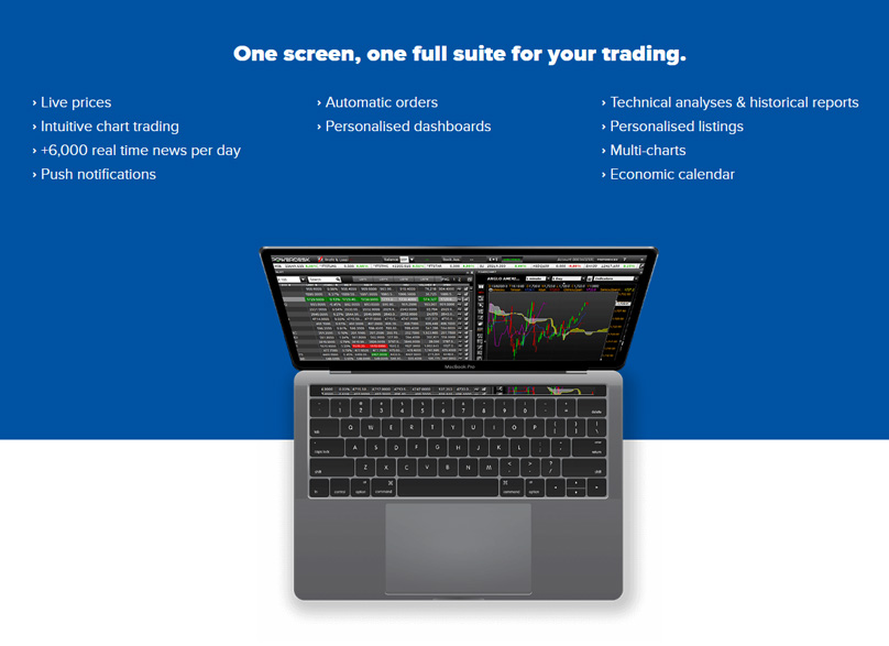 One full suite for your trading.