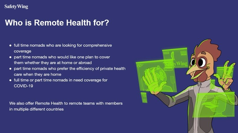 Who is Remote Health for?