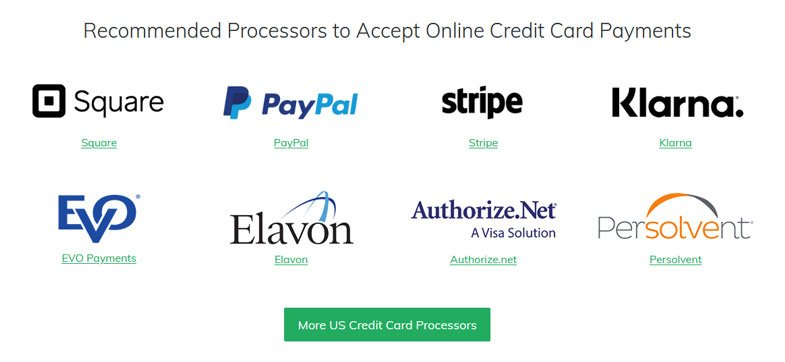100+ Online Payment Solutions