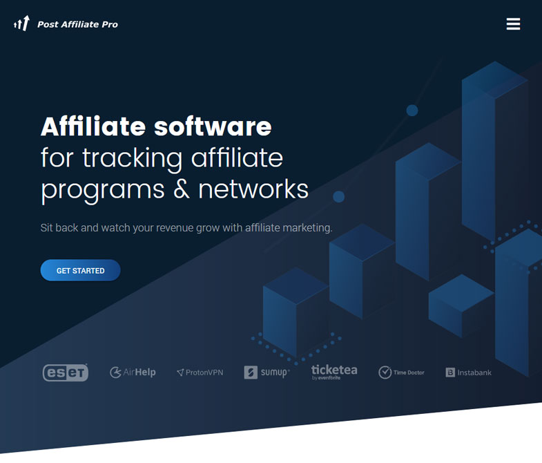 Affiliate software for tracking affiliate programs & networks