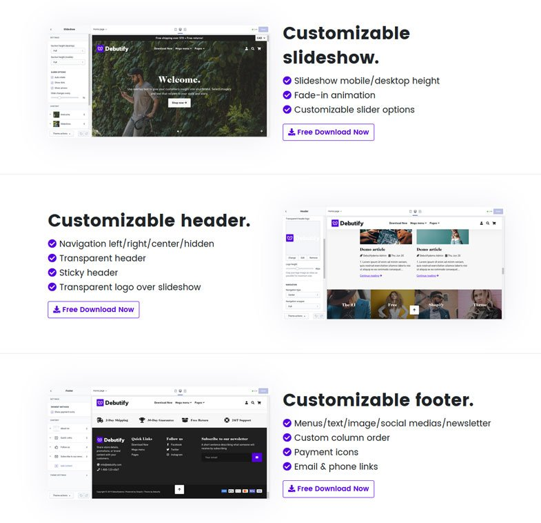 Customize the theme to fit your site